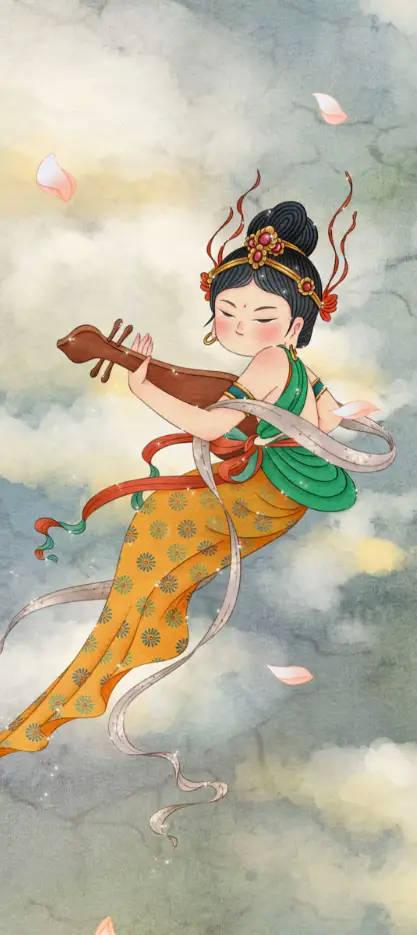 卡哇伊版的飞天小仙女