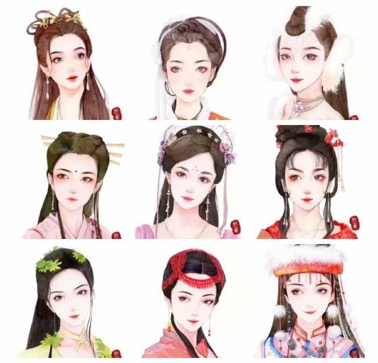这些古时的美人,都是谁?