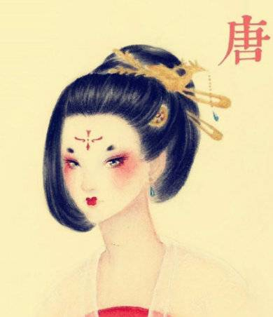 中国历代妇女的发型变迁